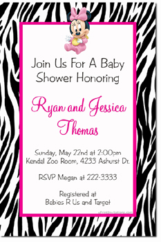 Baby shower invitations design your own baby shower cards do it mickey and minnie baby shower invitations click to create click to create this invitation filmwisefo
