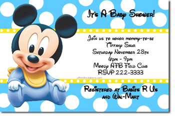 Baby Shower Invitations Design Your