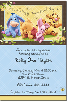 Baby shower invitations design your own baby shower cards do it click to create click to create this invitation winnie the pooh babies baby shower invitations filmwisefo Choice Image