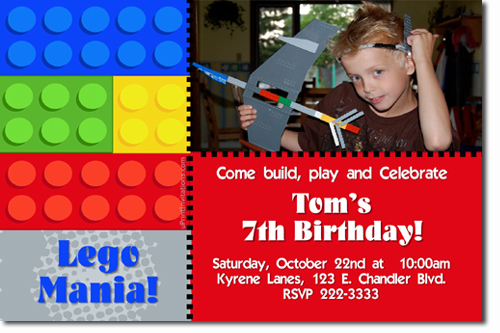 Lego Birthday Invitations Chima Birthday Invitations Ninjago – Lego Birthday Invite