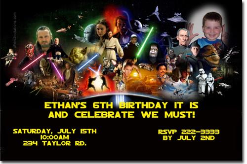 Star wars birthday invitations star wars lego birthday invitations click to create this invitation stopboris Images