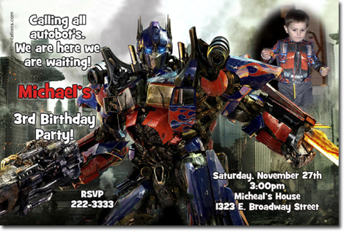 Transformers birthday invitations bumblebee birthday invitations click to create this invitation filmwisefo