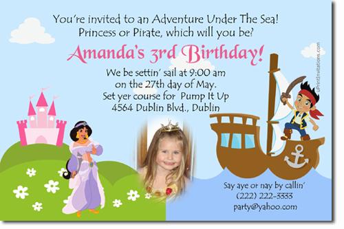 Aladdin Birthday Invitations Jasmine Birthday Invitations Candy – Princess Jasmine Birthday Card