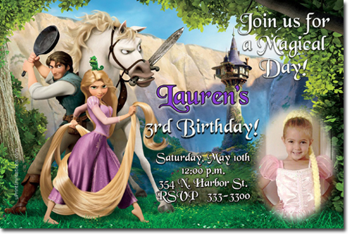 Rapunzel birthday invitations tangled birthday invitations candy click to create this invitation filmwisefo