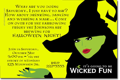 Halloween Party Invitations – Halloween Party Invitation Card