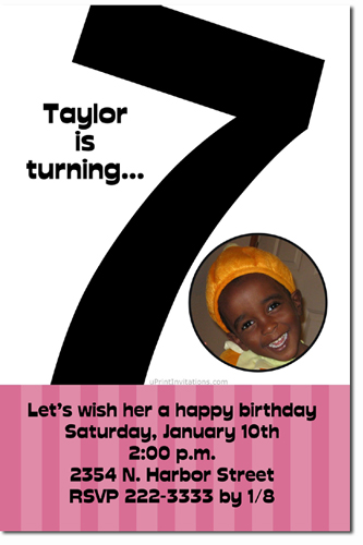 Any age birthday invitations 1st 2nd 3rd 4th 5th 6th 7th 8th click to create this invitation bookmarktalkfo Images