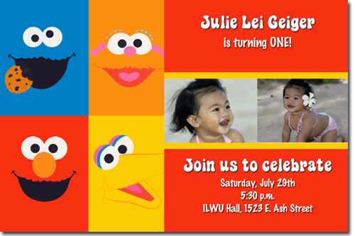 Sesame street birthday invitations elmo birthday invitations candy click to create this invitation filmwisefo