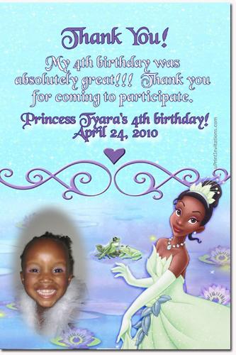 Princess and the frog birthday invitations princess tiana birthday click to create this invitation filmwisefo