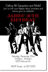 Design online, download jpg immediately DIY Flapper girl party birthday invitations