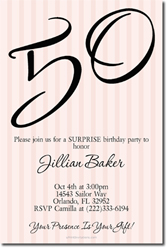 Design online, download jpg immediately DIY 50th birthday party invitations