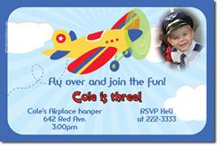 Boys birthday party invitations design online download jpg immediately diy airplane birthday invitations stopboris Choice Image