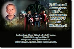Design online, download jpg immediately DIY avengers birthday Invitations
