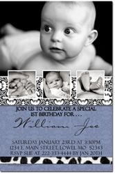 Design online, download jpg immediately DIY birthday party Invitations