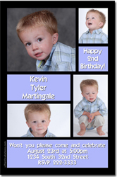 Design online, download jpg immediately DIY birthday party Invitations