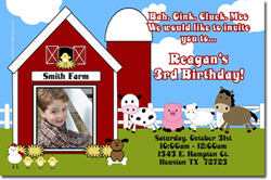 Design online, download jpg immediately DIY petting zoo party birthday Invitations