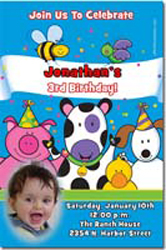 Design online, download jpg immediately DIY petting zoo birthday Invitations