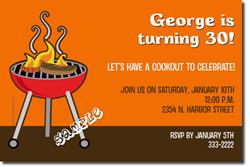 Design online, download jpg immediately DIY bbq picnic party invitations