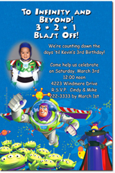 Design online, download jpg immediately DIY buzz party birthday Invitations