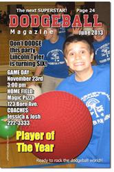Design online, download jpg immediately DIY dodgeball birthday Invitations