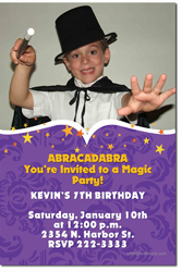 Design online, download jpg immediately DIY magic party birthday Invitations