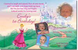 Design online, download jpg immediately DIY princess cinderella party birthday Invitations