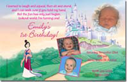 Design online, download jpg immediately DIY mulan party birthday Invitations