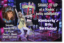 Design online, download jpg immediately DIY shake it up party birthday Invitations