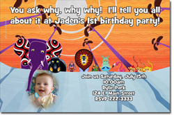 Design online, download jpg immediately DIY tinga tinga tales party birthday Invitations