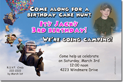 Design online, download jpg immediately DIY up the movie party birthday Invitations
