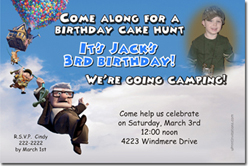 Design online, download jpg immediately DIY up the movie birthday party Invitations