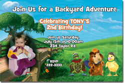 Design online, download jpg immediately DIY wonder pets birthday party Invitations