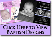 Baptism Designs