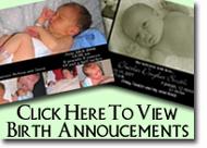 Birth Annoucements