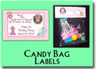 xFavor - Candy Bag Label