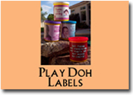 xFavor - Play Doh Labels