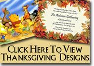 Thanksgiving Designs
